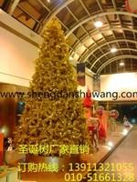 金色框架圣诞树