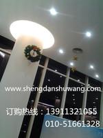 圣诞装饰奔驰4s店楼顶装饰,电话13911321055