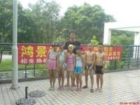 上沙村少儿游泳培训2009