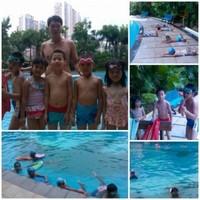 泰然物业游泳培训班2012