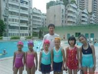 新洲村暑期中学生游泳培训班