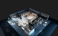 苹果展厅设计