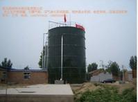 吉林延边500方沼气工程500立方电泳拼装罐