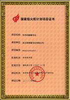 2000年国家级火炬计划项目