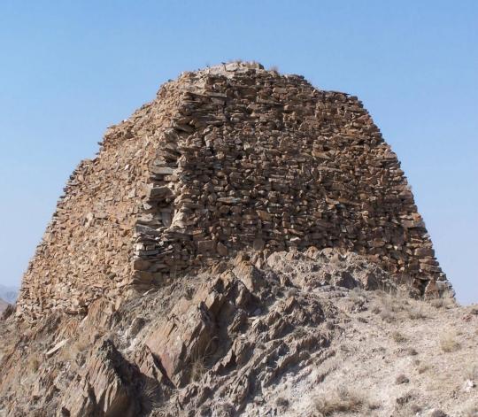 石墩山烽火台遗址