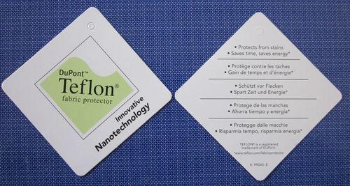 特氟龙整理剂纳米吊牌